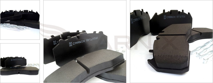 CARNIX Brake Pad for Commercial Vehicles